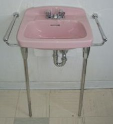 50s-pink-bathroom-fixtures Save The Pink Bathrooms on striped wallpaper for bathrooms, save my pink bathroom, pretty bathrooms, black and white bathrooms, gorgeous bathrooms, bathroom remodeling ideas for small bathrooms, fifties bathrooms, 1960s bathrooms, spacious bathrooms, save the green bathrooms, beautiful bathrooms, retro bathrooms, real 1950s bathrooms, vintage 1950s bathrooms,
